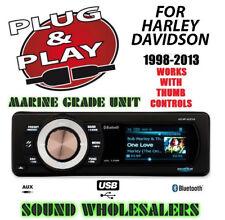 PLUG & PLAY FOR HARLEY DIGITAL MEDIA PLAYER DETATCHABLE RADIO STEREO ADAPTER KIT