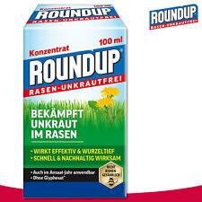 Roundup Rasen-Unkrautfrei 100 ml Konzentrat Herbizid Löwenzahn Hornklee Garten