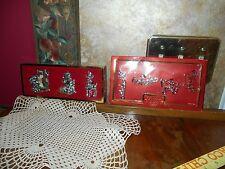 Lenox Gorham North Pole Silverplate Tree Santa Deer Ornaments AND Gift Wine Tags