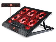 SK Games SK-S550R Notebook Kühler mit 6 LED Lüfter - Schwarz
