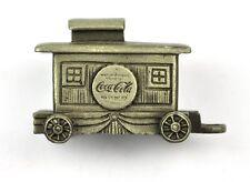 COCA-COLA COKE USA TRAIN étain WAGON pewter figurine en étain - caboose