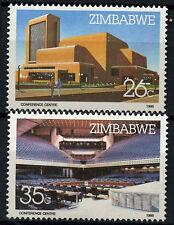Zimbabwe 1986 SG#688-9 Harare Int. Conference Centre MNH Set #D50877