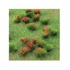 MP scenery HO scale Flowering Meadow Red fine quality trees