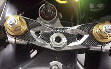 PROTEZIONE gel 3D PIASTRA FORCELLA compatibile per MOTO KAWASAKI ZX-6R 2005-2006