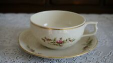 VINTAGE Rosenthal Classic Roses Raised Floral Tea Cup and Saucer, Germany