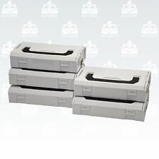 Sonderposten Sortimo L-Boxx Mini  5er Set /  Deckel grau Mini L-Boxx
