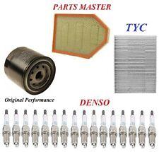 Tune Up Kit Filters Spark Plug For DODGE CHARGER V8; 6.4L 2012-2014