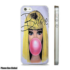 BARBIE DOLL RETRO CUTE CLEAR CASE FITS IPHONE 4S 5 5S 5C 6 6S 7 8 SE X PLUS