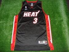 Vtg Reebok BLACK Miami Heat dWyAnE WaDe Swingman Jersey SEWN Large MINT