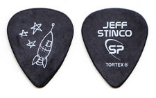 Simple Plan Jeff Stinco Rocket Black Guitar Pick - 2012 Tour