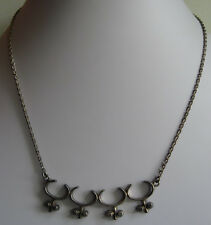 FINLAND VINTAGE 830 SILVER MODERNIST DESIGN NECKLACE