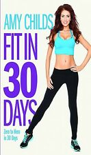 AMY CHILDS FIT IN 30 DAYS FITNES TRAINING WORKOUT DVD Brand New Sealed UK R2