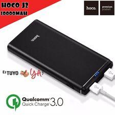 Batería externa Portátil Hoco J2 10000 mAh carga Rápida Quick Charge 3.0 USB X2
