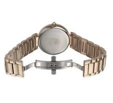 NWT Ladies Citizen EM0103-57X Eco-Drive d'Orsay Rose Gold-Tone Diamond Watch