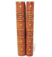 NORWEGIAN Biography MARIE ANTOINETTE  1789-1793 Two Volumes by CLARA TSCHUDI