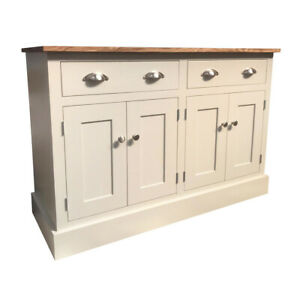 4ft Blyton Handmade Painted Welsh Sideboard (Solid Wood Bespoke)