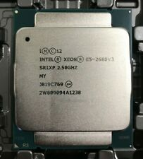 Intel Xeon E5-2680V3 SR1XP 2.50GHz 12 Core 120W 30MB Haswell LGA2011-3