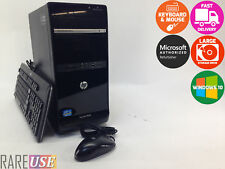 Fast HP Intel Core i3 3.3Ghz 8GB 1TB Windows 10 Desktop Computer PC DVD Tower