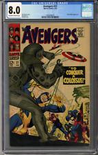 Avengers #37  CGC 8.0