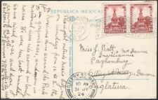 MEXICO, 1924. Post Card 655 (2), M.C. - Ottery St. Mary, England