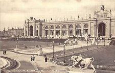 B94358 exposition de bruxelles 1910 facade principale aile gauche belgium