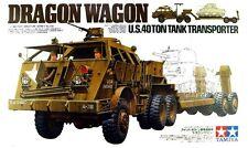 Tamiya 35230 1/35 Model U.S. 40-Ton Tank Transporter Dragon Wagon Truck-Trailer