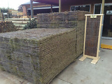 Brush Panel Fencing Screen 1.8m x 1.8m x 25mm Thick PREMIUM GRADE