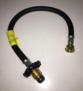 CARAVAN / MOTORHOME - LPG Gas Hose - Propane - Hand Wheel - 450 mm - GPT/092SHW