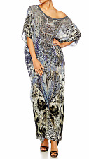 "Camilla Franks - **REDUCED** BNWT ""Hush Hush"" Long Round Neck Kaftan RRP $599"