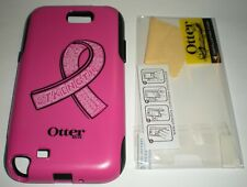 OtterBox Commuter case Samsung Galaxy Note II, Pink & Black w PET screen protect