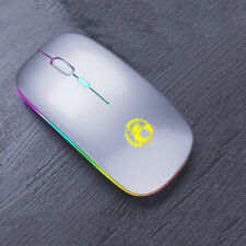 Mouse Wireless Computer Bluetooth 5.0 USB Rechargeable Silent Ergonomic Mice