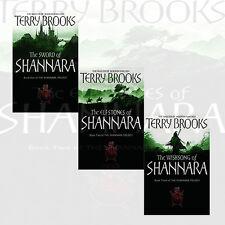 Shannara Chronicles Collection Terry Brooks 3 Books Set Sword Of Shannara Newpac