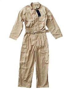 Levi's Levis Nwt Womens Loose Long Sleeve Belted Utility Jumpsuit 328890006