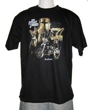 Ned Kelly Outlaw Rider Legend Black Short Sleeve Black T Shirt S,M,L,XL,XXL,3XL