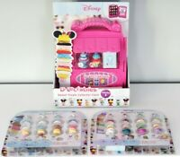 Disney D-lectables Gift Lot : Rapunzel & Cinderella Collection + Collectors Case