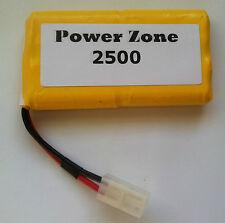 9.6 V 2500 mAh NI-MH RC (4x4) verticalmente ricaricabile AA batteria Power Pack GRATIS P&P