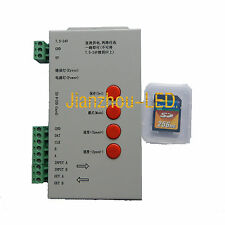T-1000S SD Card LED Controller for TM1803,1804,1809,1812,1903,1904,LED RGB Strip
