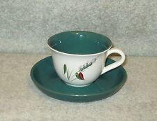 DENBY GREENWHEAT TEA CUP & SAUCER
