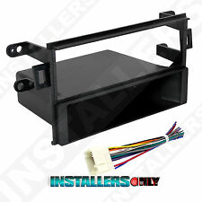 Accord Aftermarket Car Stereo Single-Din Radio Install Dash Kit w/ Wires 99-7895