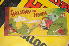 A Holiday for Honk Comic strip book. Joy K Sedgon Brockhampton Press 1930s 1940s