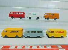 AV174-0,5# 6x Wiking H0 Transporter VW LT 28: IPEC+Shell+Wero etc, NEUW