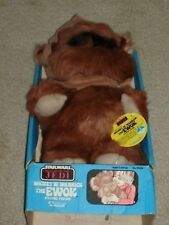 Vintage Star Wars 1983 Kenner Wicket Warrick Ewok Plush Stuffed ROTJ Boxed new!