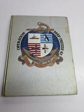 Vintage US NAVY CRUISE BOOK - 1961 TASK FORCE 43 - OPERATION DEEP FREEZE