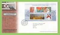 G.B. 2007 Celebrating England set Royal Mail First Day Cover, Tallents House