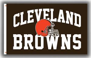 Cleveland Browns Football Team Memorable flag 90x150cm 3x5ft best banner