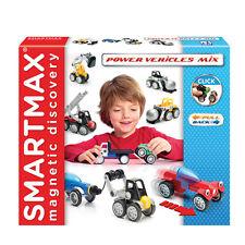 SmartMax SMX 303 Power Vehicles Mix Set Riesenmagnet-Set Magnetspiel Baukasten