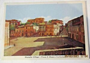 MONTALTO UFFUGO PIAZZA E. BIANCO E VIA GARIBALDI FG V1961