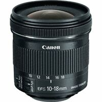 Brand New Genuine Canon EF-S 10-18mm f/4.5-5.6 IS STM  Black Lens IT*3