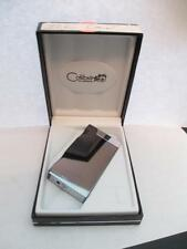 NO LONGER AVAILABLE Colibri Ice Polished Gunmetal Cigar Lighter HIGH END