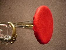 Trumpet Felt Mute - Double Thickness (Demo Video Cornet Cloth Hat Beret Softone)